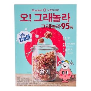 오리온 마켓오 오그래놀라 딸기 300g[6개]