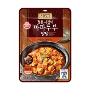 오뚜기 오늘밥상 정통사천식 마파두부양념 130g[4개]