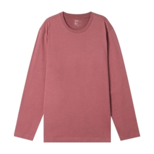탑텐 남녀공용 싱글 크루넥 긴팔 티셔츠_MSZ5TS3991