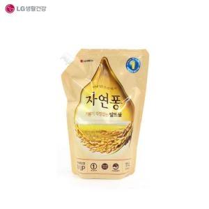 LG생활건강 자연퐁 기름기 걱정없는 쌀뜨물 리필 1.1L[1개]
