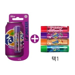 립스매커 환타 그레이프 립밤 4g + 코카콜라 클래식 립밤 4g