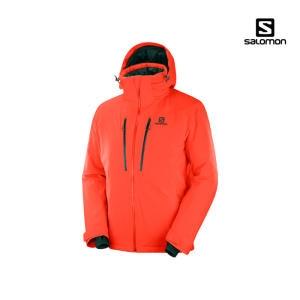 살로몬 아이스로켓 스키자켓 19/20 (LC1223100)[레드]