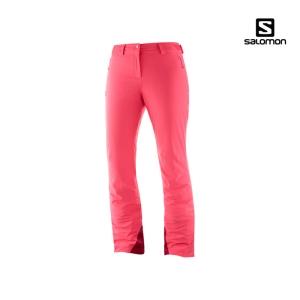 살로몬 아이스매니아 여성 스키팬츠 19/20 (LC1211700)[핑크]