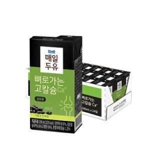 매일유업 뼈로가는 고칼슘 검은콩 190ml[24팩]