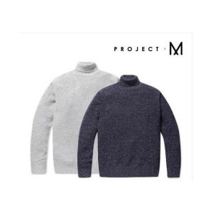 프로젝트엠 남성 보카시 터틀넥 스웨터_EPZ4EU1500
