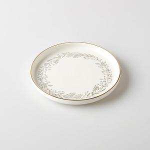 까사미아 리프골드 접시[18cm]
