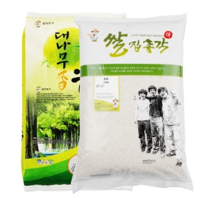 쌀집총각 대나무향미 백미 10kg + 찹쌀 10kg