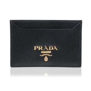 프라다 남녀공용 메탈 로고 카드지갑_1MC208-2B6P-F0002