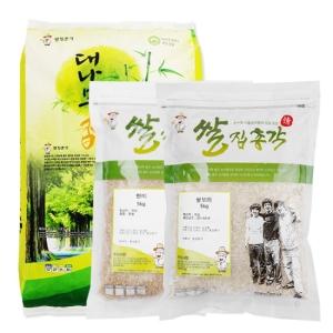 쌀집총각 대나무향미 백미 10kg + 현미 5kg + 쌀보리 5kg