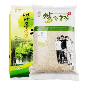 쌀집총각 대나무향미 백미 10kg + 찰보리 10kg