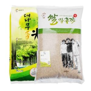 쌀집총각 대나무향미 백미 10kg + 현미 10kg