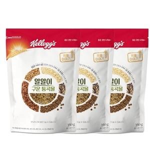 켈로그 알알이 구운 통곡물 350g[3개]