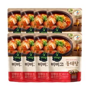 CJ제일제당 비비고 동태탕 460g[8개]