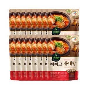 CJ제일제당 비비고 동태탕 460g[16개]