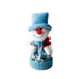 위니비니 세트크리스마스주머니 (눈사람)