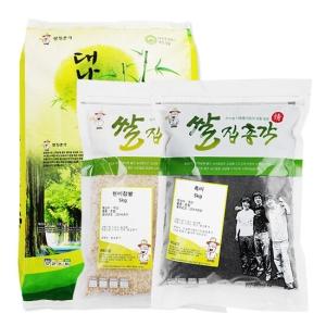 쌀집총각 대나무향미 백미 10kg + 현미찹쌀 5kg + 흑미 5kg