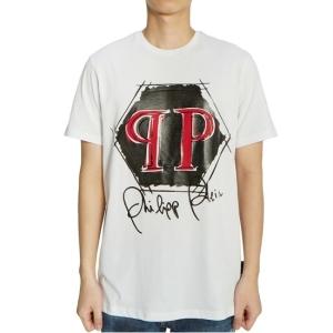 필립플레인 남성 반팔 티셔츠_MTK3941 PJY002N 01