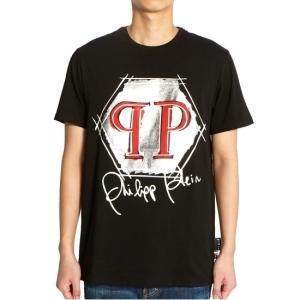필립플레인 남성 반팔 티셔츠_MTK3941 PJY002N 0270
