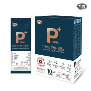 하림 P플러스 다이어트 프로틴 밸런스 25g[10포]