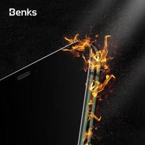 Benks 라운드 풀커버 강화유리 액정보호필름[아이폰11]