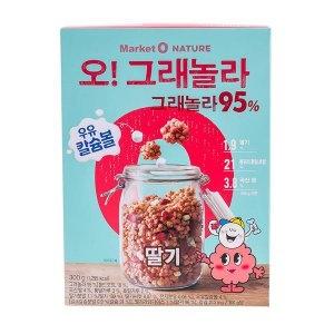 오리온 마켓오 오그래놀라 딸기 300g[2개]
