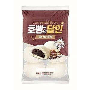 SPC삼립 호빵의달인 통단팥 호빵 8개입 640g[1개]