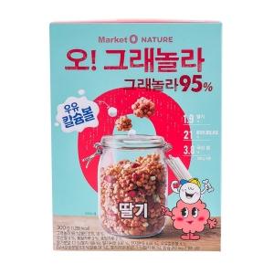오리온 마켓오 오그래놀라 딸기 300g[3개]