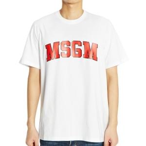 MSGM 남성 반팔 티셔츠_2740MM86 195797 01