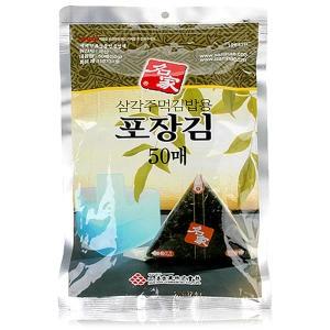 삼해상사 삼각김밥김(조미) 50매[2개]