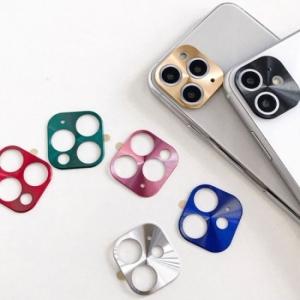 CRO 블랙&컬러 엣지 카메라렌즈 강화유리 필름[아이폰11 프로 맥스]