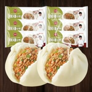 롯데제과 기린 야채호빵 4개입 360g[6개]