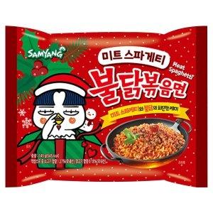 삼양식품 미트 스파게티 불닭볶음면 145g[32개]