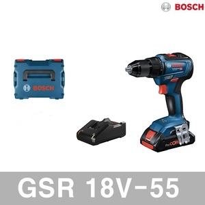 보쉬 GSR 18V-55[2.0Ah, 배터리 1개]