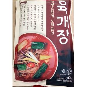 고향식품 옛맛 육개장 600g[25개]