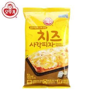 오뚜기 돌판오븐에 구워만든 치즈 사각피자 88g[25개]