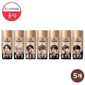 한국야쿠르트 BTS 핫브루 바닐라라떼 270ml[5개]