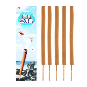한국디비케이 모기향 낚시 캠핑 전용 스틱 5개[1팩(5개)]