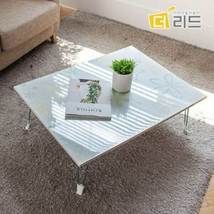 더리드 해피 하이그로시 사각 테이블[80x60cm]
