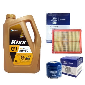 GS칼텍스 KIXX G1 5W30 + 순정필터 NF쏘나타 2.0 가솔린