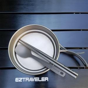 이지트래블러 티타늄 일체형 수저세트