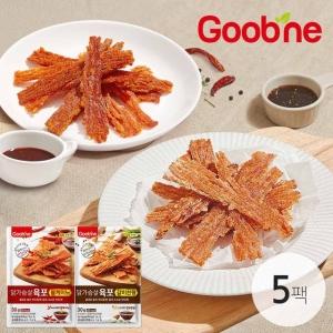 다원식품 굽네 닭가슴살 육포 볼케이노 30g[5개]