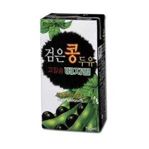 정식품 베지밀 검은콩 고칼슘두유 190ml[1팩]