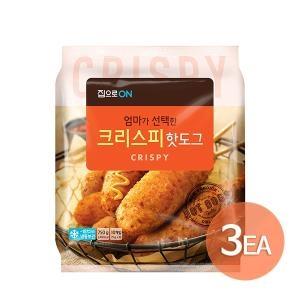 대상 청정원 집으로ON 오리지널 핫도그 750g[3개]