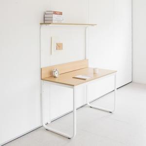채우리 두유 철제 선반 책상[120x60cm]