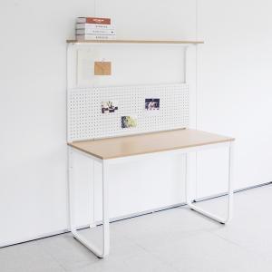 채우리 두유 철제 선반 책상[80x60cm]