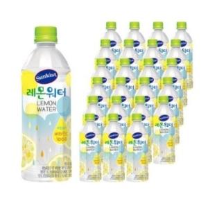 썬키스트 레몬워터 500ml[96개]