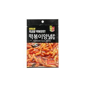 청우식품 첫맛 떡볶이양념 분말 순한맛 35g[240개]