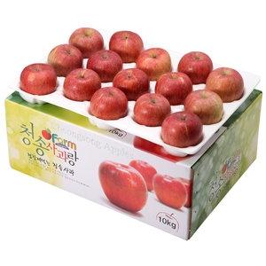 아침햇살농장 청송사과랑 껍질째 먹는 청송햇부사 중대과 28~30[10kg]