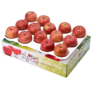 아침햇살농장 청송사과랑 껍질째 먹는 청송햇부사 중대과 13~14과[5kg]