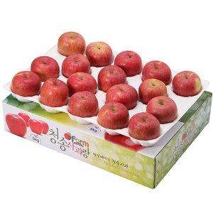 아침햇살농장 청송사과랑 껍질째 먹는 청송햇부사 중과 17~18과[5kg]